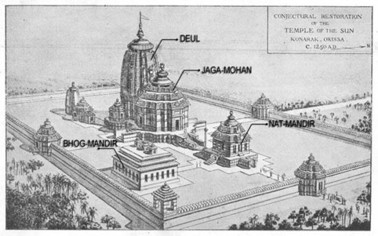 The Conjectural Restoration of The Temple Of The Sun