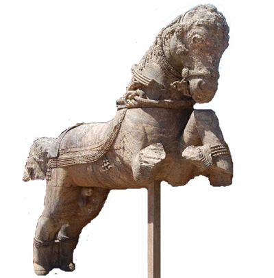One of the Horse of Konark Temple